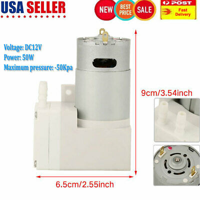 Dc 12v Mini Vacuum Pump Negative Pressure Suction Pump 7lmin -50kpa