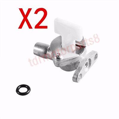 2 x Mini Pocket Bike Crotch Rocket Parts Carburetor Fuel Gas Knob Valve 47-49cc