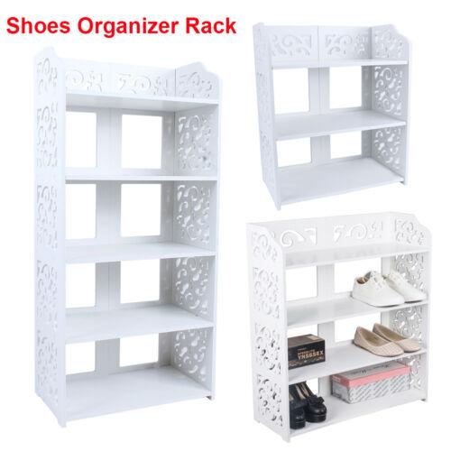 Entryway Shoe Rack Closet Shelf Holder Storage Closet Organizer Cabinet Portable