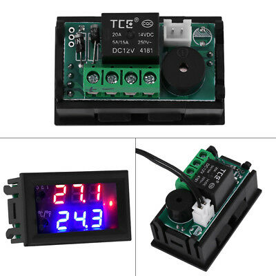 Microcomputer Thermostat Switch Temperature Controller Dc 1224v Digital Led Zg