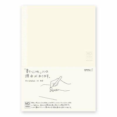 Midori Made In Japan Md Notebook A5 Plain Paper 176 Sheet