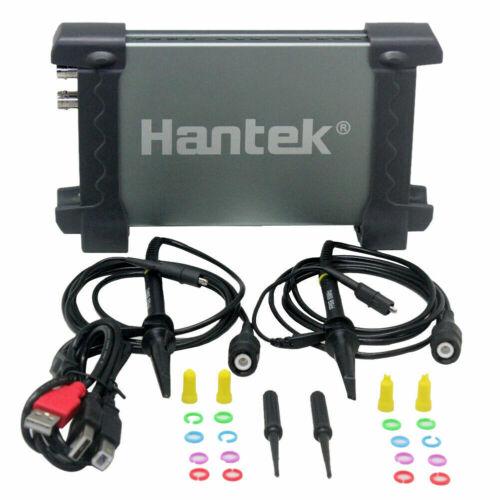 Hantek 6022BE PC/LAPTOP 2CH FFT Oscilloscope USB 48MSa/s 20MHz - USA SELLER