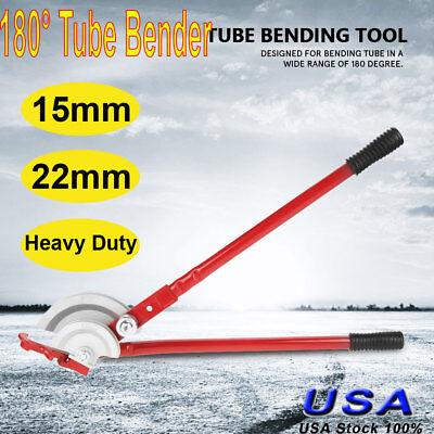 Copper 180 Pipe Tubing Bender Bending Tool 0.590.87 Tube Heavy Duty Handheld