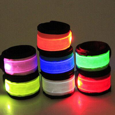 LED Light Up Flashing Bracelet Bangle Wristband Glow Blinking Party Club Candid - Led Wrist Bands