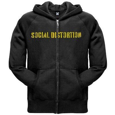 Social Distortion - Spray Paint Zip - Social Distortion Hoodies