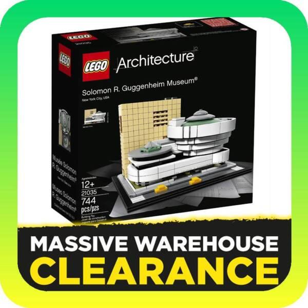 LEGO 21035 Architecture - Solomon R. Guggenheim Museum