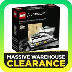 LEGO 21035 Architecture - Solomon R. Guggenheim Museum Tullamarine Hume Area Preview