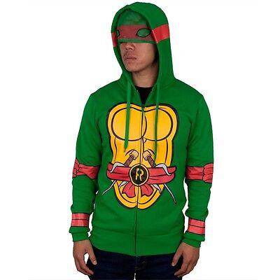 Teenage Mutant Ninja Turtles - I Am Raphael Costume Zip Mens Hoodie