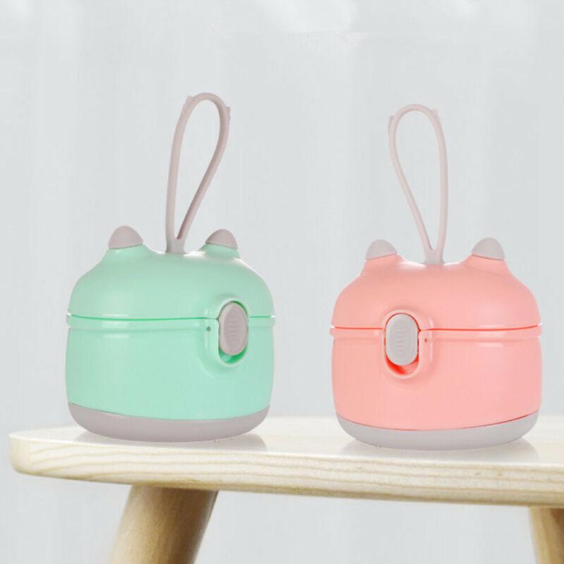Portable Infants Baby Milk Powder Formula Dispenser Food Container Feeding Box