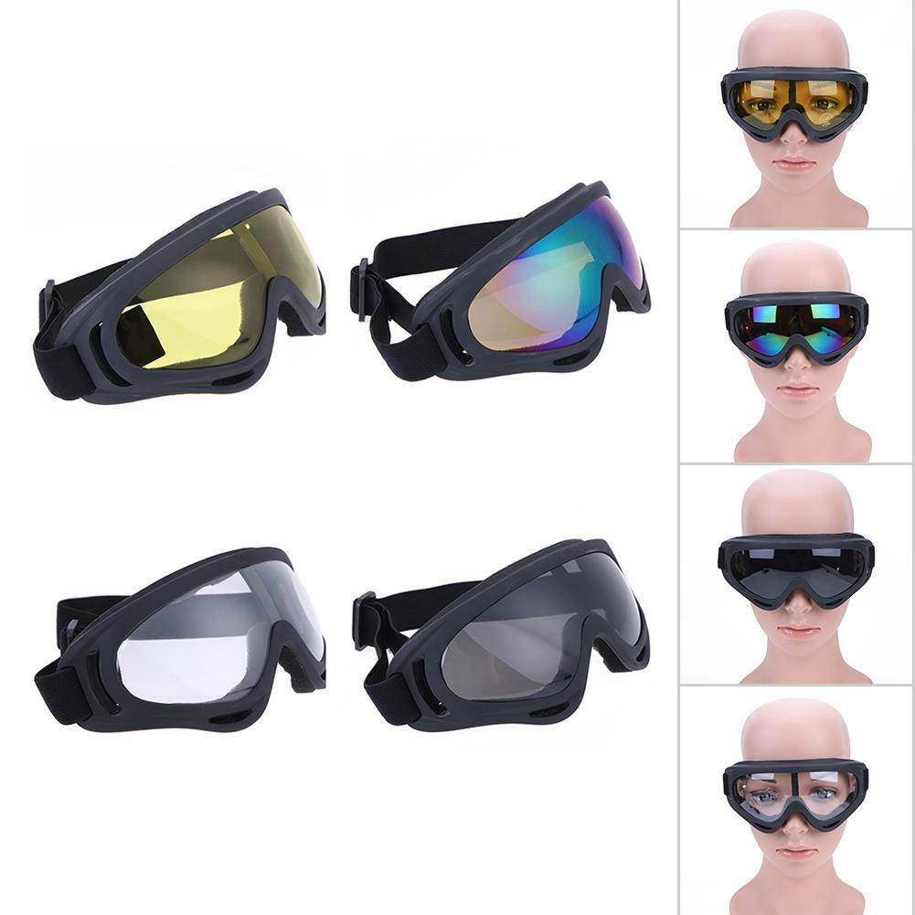 UV400 Windproof Motorcycle Skiing Goggles Bike MTB Sport Eye