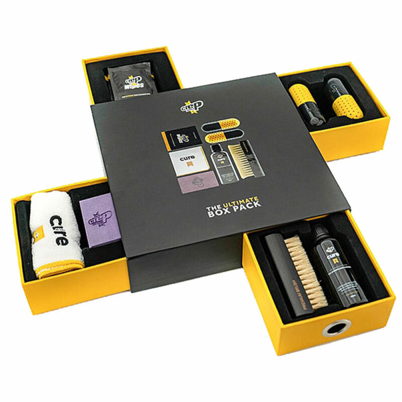 Crep Protect Unisex Tube The Ultimate Shoe Care Box Pack Black Shoe Protection