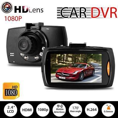Auto Car DVR Camera Dash Video Recorder LCD G-sensor Night Vision HD 1080P RR