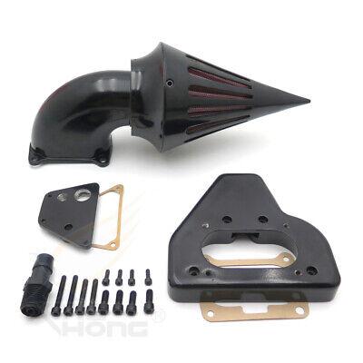 Spike Air Cleaner Intake Kit Gloss Black For 2002- 2009 Honda Vtx 1800 R S C N F