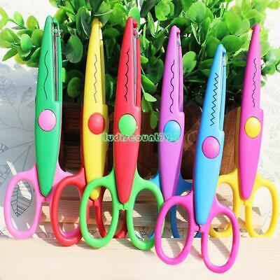 Craft Decorative Edge Scissors Colorful Safety Different Waves Paper Cut DIY -