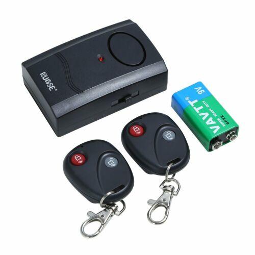 Motor Bike Wireless Remote Control Vibration Alarm Anti-Theft Security Sensitive