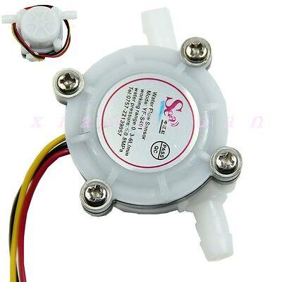 1pc Water Coffee Flow Sensor Switch Meter Flowmeter Counter 0.3-6lmin New