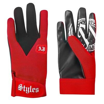 AJ Styles gloves - Red