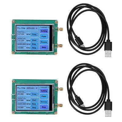 Adf4350adf4351 Rf Signal Generator Sweep Frequency Generator Touch Screencable