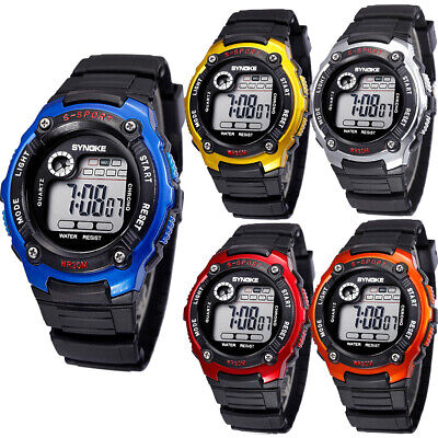 Kids Sport Waterproof Watches Digital Electronic LED Wristwatches Best Gift US