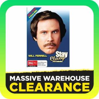 Stay Classy! DVD Collection Will Ferrell (DVD, 4 Disc Set)