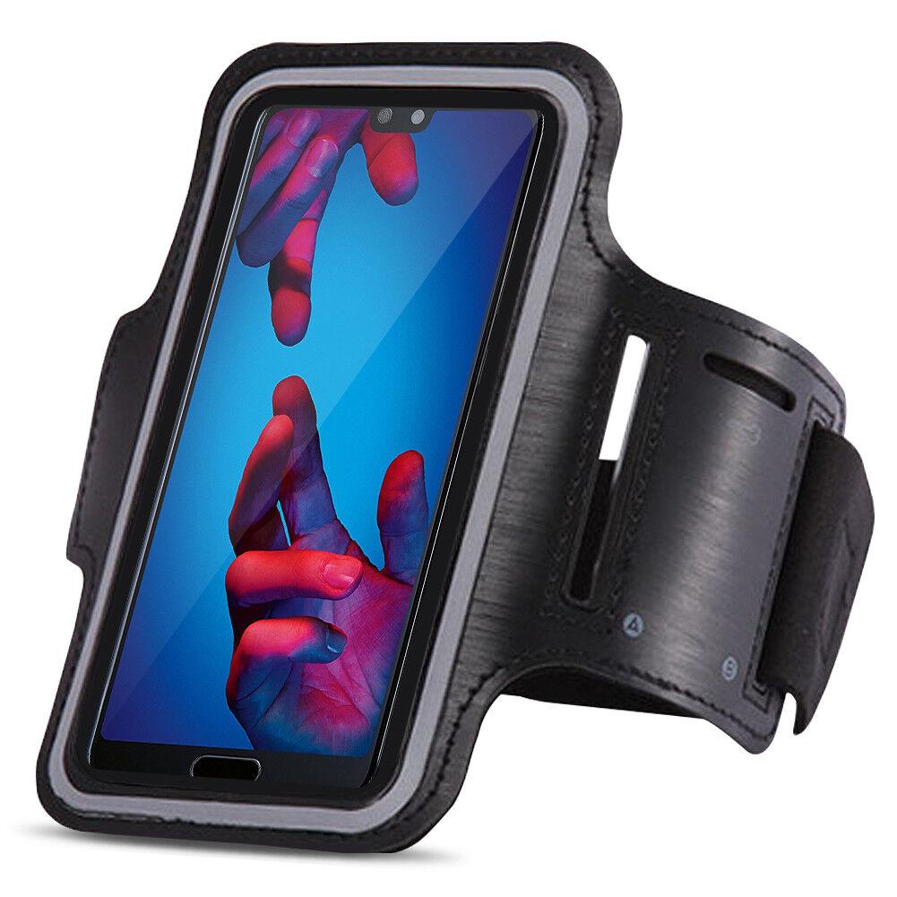 Sportarmband Huawei P20 Lite Jogging Handy Tasche Hülle Fitnesstasche Lauf Case