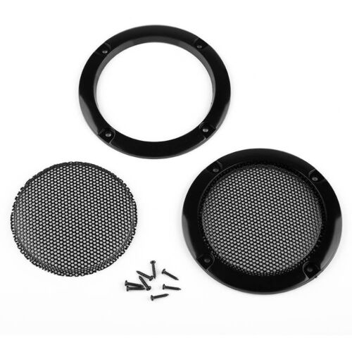 One Pair 3 Inch Arcade Speaker Grill With Screws by Atomic Market