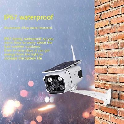 Telecamera sorveglianza pannello Solare wireless sicurezza WiFi senza corrente