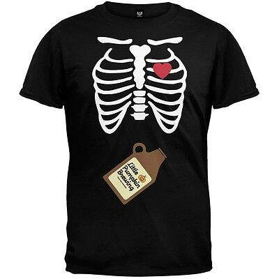 Pregnant Skeleton Halloween Costumes (Growler Baby Pregnant Skeleton Halloween Costume)