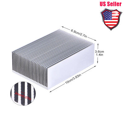 Aluminum Heat Sink Cooling For Led Amplifier Transistor Ic Module 1006936mm Us