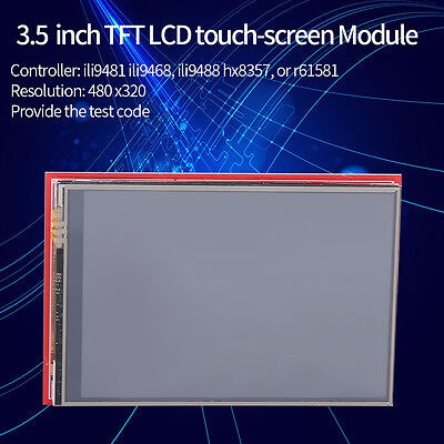 3.5 Inch Tft Lcd Touch Screen Module 480x320 For Arduino Mega2560 Board New