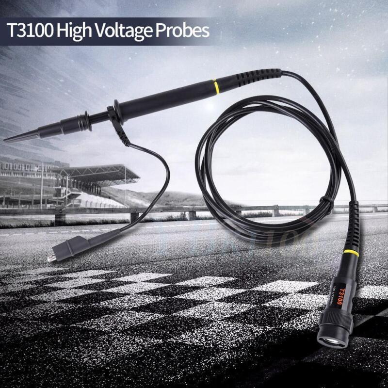 2500V Hantek T3100 100MHz High Voltage x1 x10 1: 100 Probes for Oscilloscope Hot