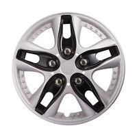 4pcs/ Set Car Vihicle Wheel Rim Skin Cover 12, Hub Caps Hubcap Wheel Cover Black - atmomo - ebay.co.uk
