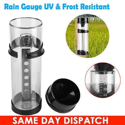 10 inch UV Stabilised 250mm Professional Rain Gauge Farming Home Garden Yard US