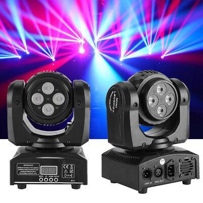 80W DJ Moving Head Stage Lighting DMX RGBW LED Bar Beam Disco Party Lights