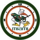 Miami Hurricanes NCAA Clocks