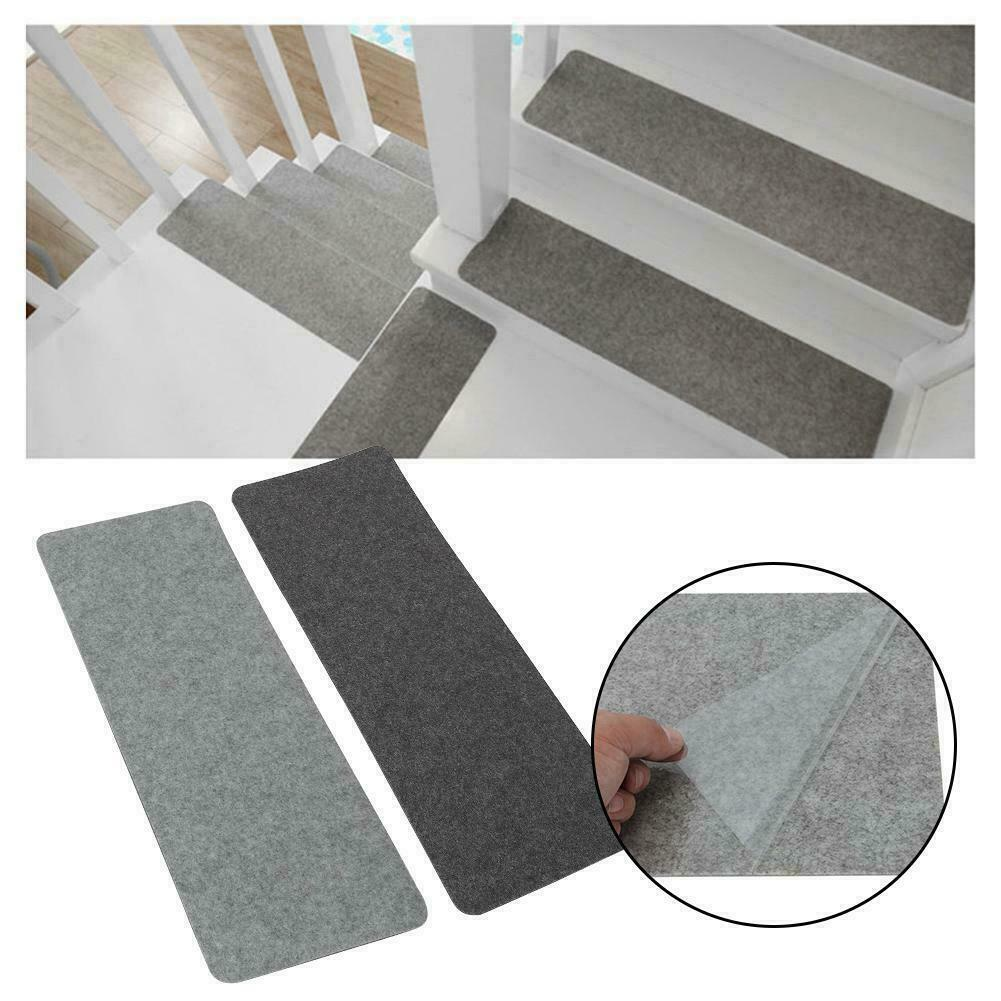 Carpet Stair Mats Step Staircase Non Slip Stair Mat Protection Cover Pads V7T2