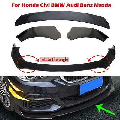 Front Bumper Lip Body Kit Spoiler For GMC Honda Civic BMW Benz Mazda Universal