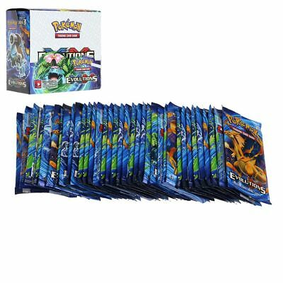 Pokemon Tcg Xy Evolutions Booster Sealed Box   English 324Pcs 36 Packs In Stock
