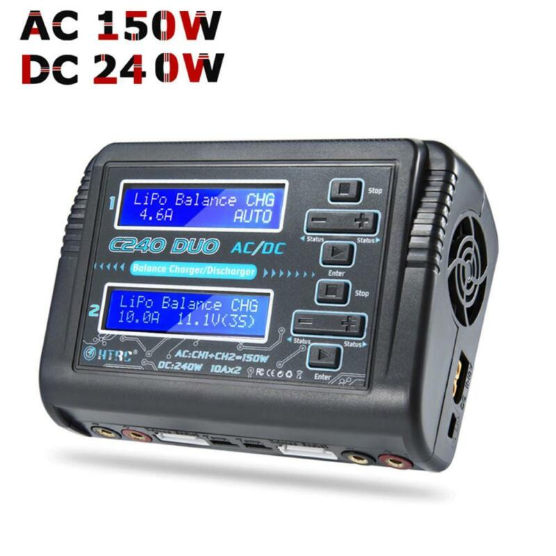 HTRC C240 Dual Channel RC Car 6S Lipo NiMH Battery Balance C