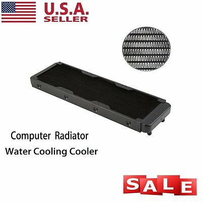 Aluminum R360 Computer CPU Heatsink Cooler Radiator Water Cooling US BP