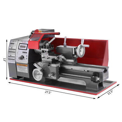 Automatic Metal Mini Metal Turning Lathe Machine Wood Drilling 600w