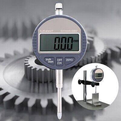Range 0-25.4mminch Gauge High Precision Digital Dial Indic 0.01mm0.0005inch Us