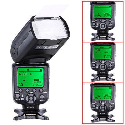 E Tll Master Slave Camera Flash For Canon Dslr Camera Eos 5D  Mark Ii