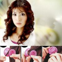 20 Piezas Belleza Mujer Enrollar El Pelo Maker Rulos Rodillo Suave Silicona Diy - suave - ebay.es