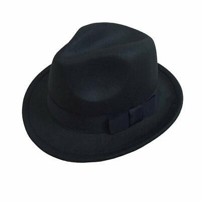 Black Fedora Hat For Kids (Michael Jackson Hat for Kids- Fedoras - Black-Michael Jackson Dangerous)