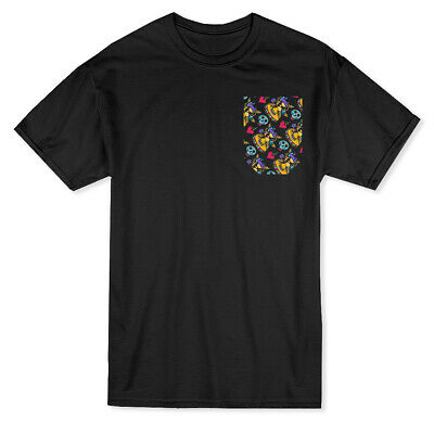 Day Of The Dead Mexican Sombrero Pocket Design Men's (Day Of The Dead T Shirt Design)