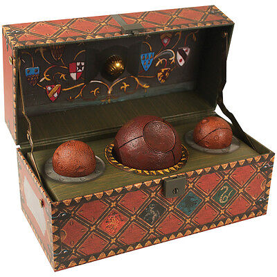New Harry Potter Collectible Deluxe Miniature Quidditch Set With Bonus Poster