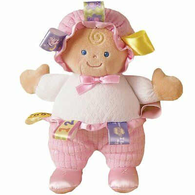 Mary Meyer Taggies 8 Inch Baby Doll Plush Toy