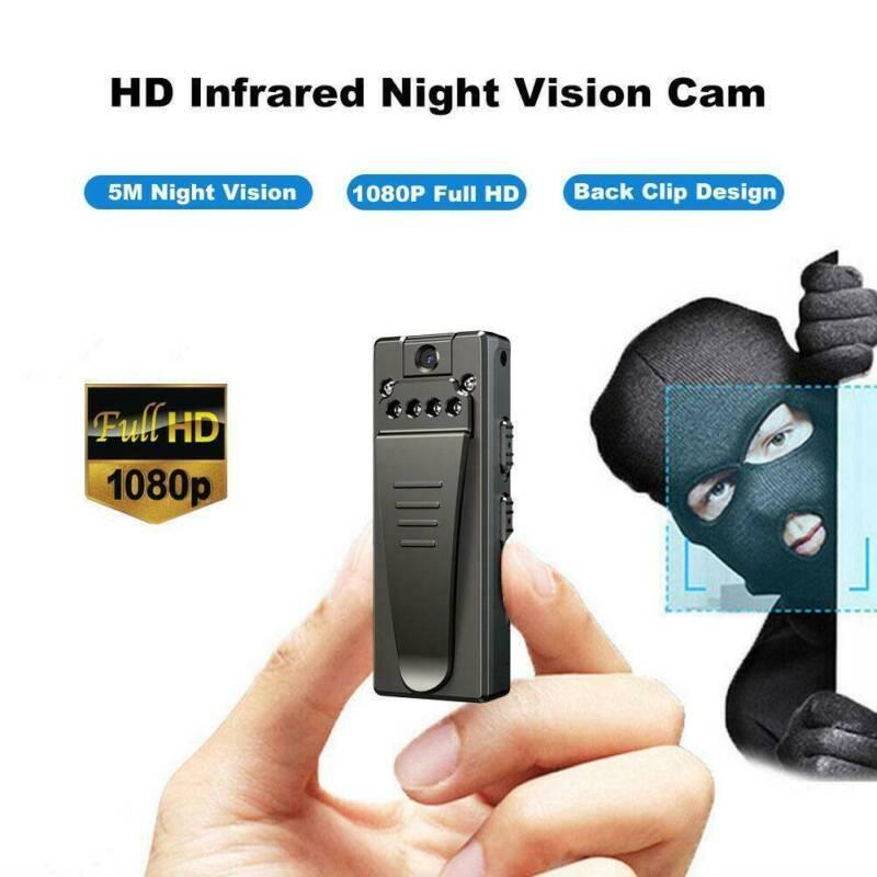 1080P HD Camera Hidden Mini Portable Body DVR