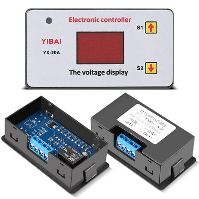 12v Battery Low Voltage Cut Off Switch On Protection Undervoltage Controller Us
